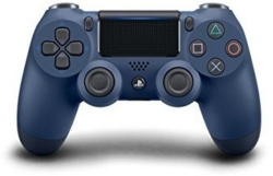 DualShock 4 Wireless Controller for PlayStation 4 – Midnight Blue
