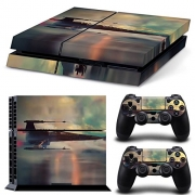 GoldenDeal PS4 Console and DualShock 4 Controller Skin Set -Star Warrior – PlayStation 4 Vinyl