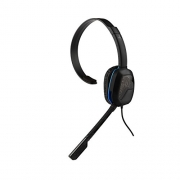 PDP Sony Afterglow LVL 1 Chat Headset 051-031-CA, Black