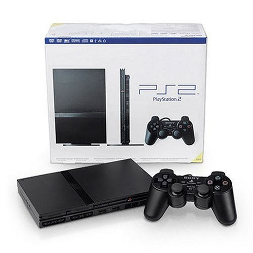 PlayStation 2 Console Slim – Black