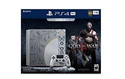 PlayStation 4 Pro 1TB Limited Edition Console – God of War Bundle