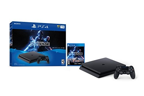 PlayStation 4 Slim 1TB Console – Star Wars Battlefront II Bundle
